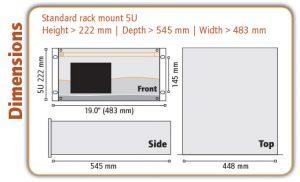 Line 500 Dimensions - Orthodyne Gas Chromatography
