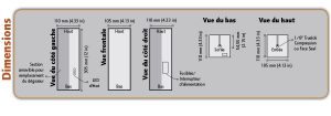 PUR 8000 Gas Purifier Dimensions - Orthodyne Gas Chromatography